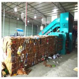 废纸箱液压打包机 油漆桶压块机 厂家定制