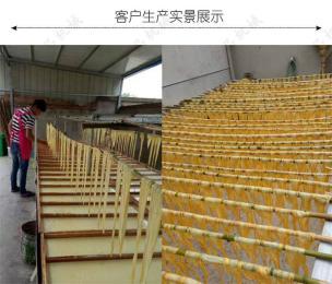 设计先进 结构简单鑫丰半自动腐竹机生产线 低功耗