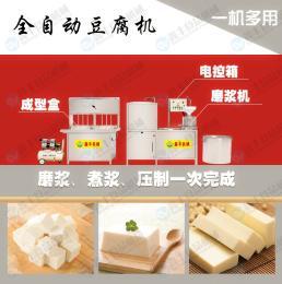 占地小 省时省力小型全自动豆腐机原装现货