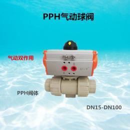 UQ621F-10S气动活接球阀PPH