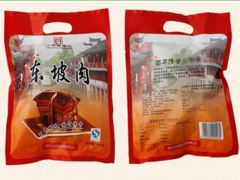 东坡肉彩印包装袋酱卤肉蒸煮包装袋
