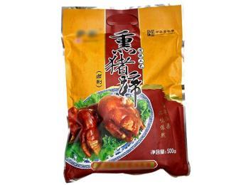 熏猪蹄彩印镀铝袋食品蒸煮包装袋