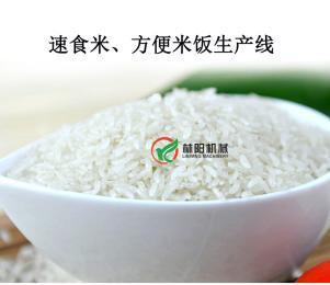 懒人快餐米生产设备