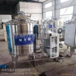 中央厨房式鲜奶储存罐 大型牛奶厂专用设备