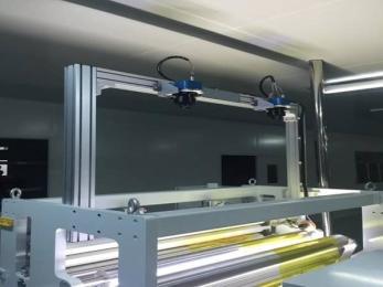 铝箔表面孔洞在线式自动化机器视觉检测设备