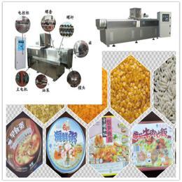 冷水速食方便米设备 自热米挤出机厂家直销