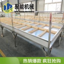 聚能腐竹豆皮机生产视频 一次成型仿手工腐竹机