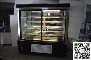 供应安徽立式前开门蛋糕柜低温酸奶展示柜立式风冷蛋糕柜