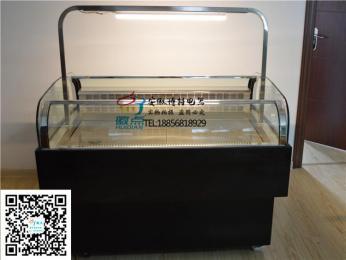 供应卧式敞开式蛋糕柜三明治面包展示柜西点寿司冷藏柜