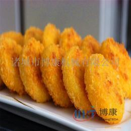 供应小型肉饼成型机紫苏虾饼墨鱼饼设备