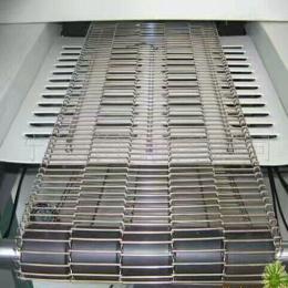 不锈钢乙型网带食品烘焙网带耐高温输送带巧克力涂层网带