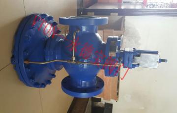 进口先导薄膜式蒸汽减压阀