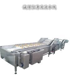 多功能水果蔬菜清洗机白菜青菜大型商用气泡洗菜机 不锈钢清洗机