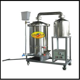 生料发酵蒸汽式酿酒机双层结构经久耐用
