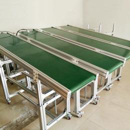 PVC皮带输送机电子生产流水线分拣输送设备带式输送机