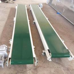 重工养殖场饲料输送机带式自动给料机提升输送机规格
