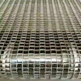 不锈钢长城网带方格输送带马蹄链承载重强