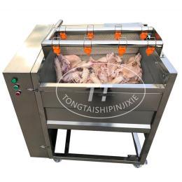 洗猪头 猪蹄通用型毛辊清洗机