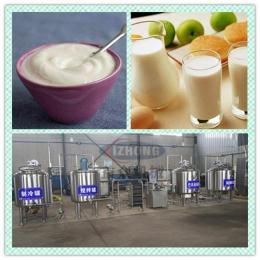 牛奶巴氏灭菌加工设备 大型搅拌型酸奶发酵设备