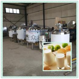 鲜奶低温灭菌灌装生产线 酸奶发酵灭菌设备