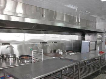 石家庄饭店通风系统排烟管道安装