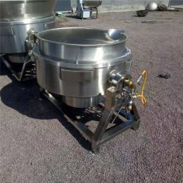 义康牌 蔗糖燃气夹层锅 自动控温牛尾汤煮肉锅 可倾斜出料熬粥锅
