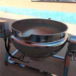义康牌 豆瓣酱炒制夹层锅 自动控温羊腿煮肉锅 可倾斜出料茶叶蛋卤制锅