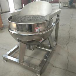 高温蒸汽煮肉锅 立式不锈钢夹层锅 腊肉卤制锅 义康制造