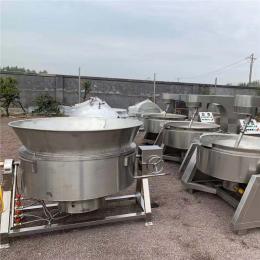 自动出料煮肉锅 蒸汽加热卤煮锅 腊肉卤制夹层锅 义康制造