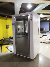 武漢不銹鋼風淋室生產廠家,湖北單人雙吹風淋室裝置