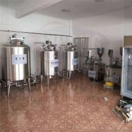 发酵酸奶低温巴氏杀菌罐  西藏整套鲜奶制造设备