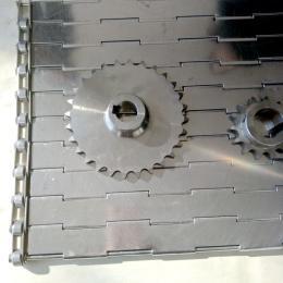 链板金属输送带平面不锈钢输送带板链输送线生产厂家
