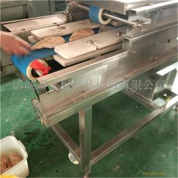 义康制造鲜肉切片机 多层鲜肉切片机 牛排加工设备