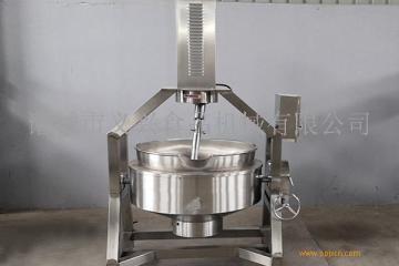 行星式搅拌夹层锅  自动搅拌炒锅 酱料熬制搅拌锅