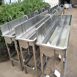 瑞宝批量销售洗手槽 感应式洗手槽 脚踏式洗手槽