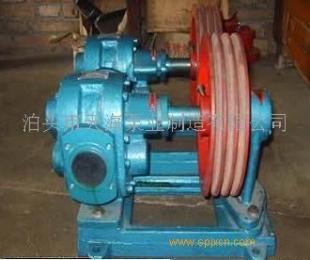 稠油齒輪泵