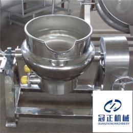 冠正机械不锈钢粽子/鸭蛋全自动蒸煮夹层锅