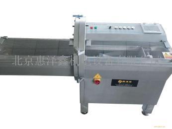 青海西宁牦牛肉加工设备 冻肉 牛排切片机——HZX-21砍排机