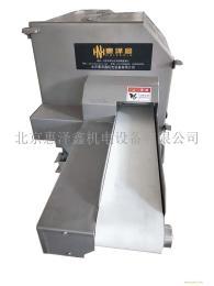惠泽鑫机械HZX-140智能款熟肉扣肉切片机采用PLC控制系统