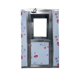 上海风淋室  不锈钢单人风淋门