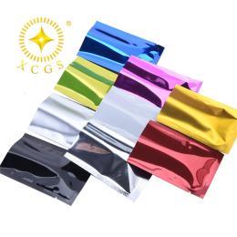 珠海市供应镀铝袋阴阳自封平口包装袋防潮遮光袋