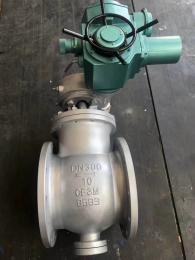 上海电动偏心半球阀-电动上装偏心半球阀工厂直销