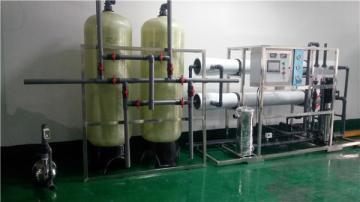 无锡滨湖区纯化水设备|实验室用纯水设备|清洗用双级反渗透设备