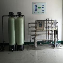 湖北工业纯化水设备,2T/H二级反渗透设备,达旺软化水设备