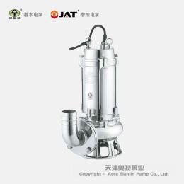100WQ80型号不锈钢排污水潜水泵