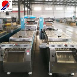 小康牌調理牛排全自動連續拉伸膜真空包裝機-調理肉連續拉伸真空包裝機