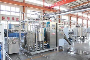 商用牛奶生产设备中小型牛奶生产线牛奶加工设备