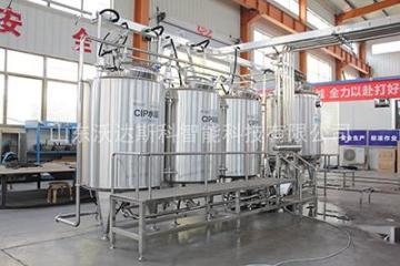 管道设备清洗  CIP清洗  在位清洗就地清洗  牛奶生产线