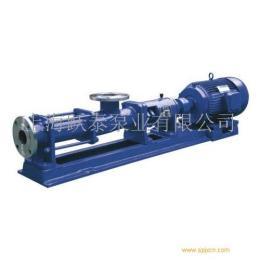 上海跃泰G型螺杆泵