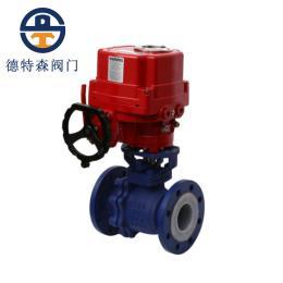电动衬氟球阀Q941F46-16C-DN80